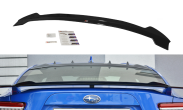 Maxton Design Gloss Black Gurney Flap V2 for OEM BRZ Spoiler - 2017+ BRZ