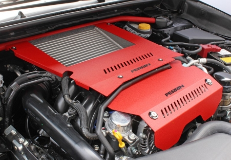 Perrin Engine Cover Kit - 2015+ WRX