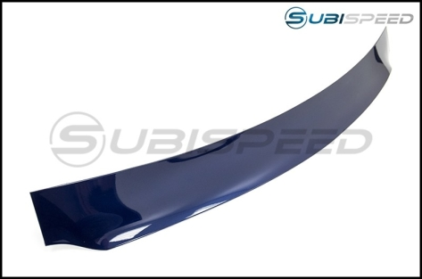 OLM Paint Matched Rear Window Roof Visor / Spoiler - 2015+ WRX / 2015+ STI