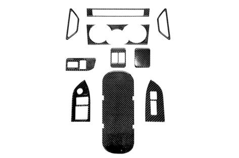 OLM Carbon Fiber Interior Dress Up Kit (12pc) Premium - 2013+ BRZ
