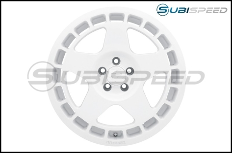 fifteen52 Turbomac 18x8.5 +45 Rally White - 2013+ FR-S / BRZ / 86 / 2014+ Forester
