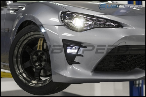 OLM Complete OEM Style Fog Light Kit with Corona DRL Halos - 2017+ BRZ / 86