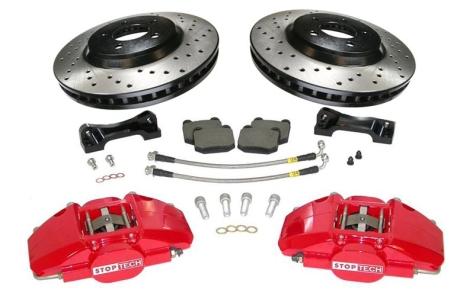 StopTech Rear 2 Piston ST-28 Big Brake Kit (345x28mm)