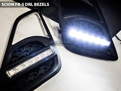 High Output DRL Fog Light Bezels - 2013+ FR-S