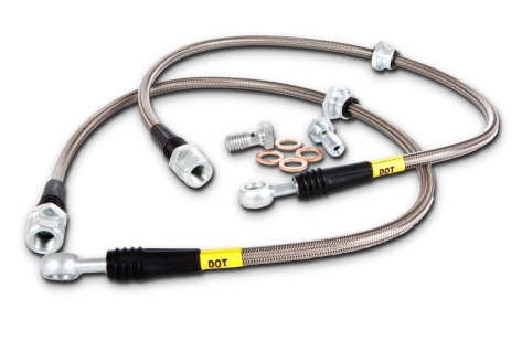 StopTech Stainless Steel Brake Lines (Rear) - 2013+ BRZ