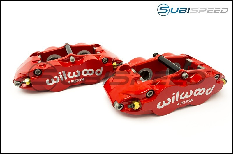 Wilwood 4R Drilled Rear (Red)