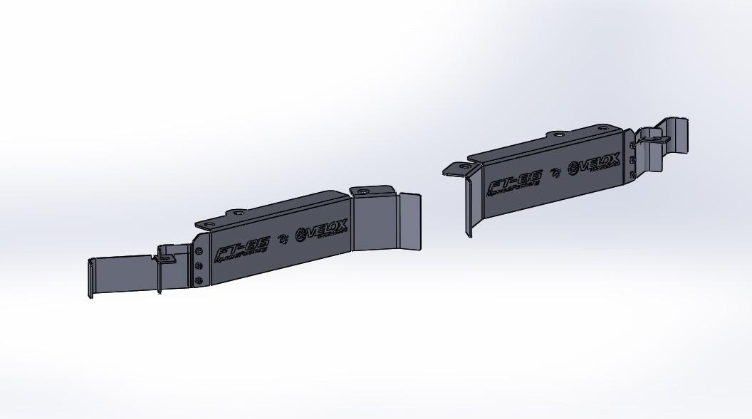 FT-86 SpeedFactory Front Wheel Deflectors by Verus Motorsports