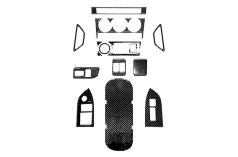 OLM Carbon Fiber Interior Dress Up Kit (17pc) Limited