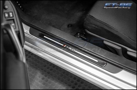 JDM Station TRD Style Door Sills - 2013+ FR-S / BRZ / 86