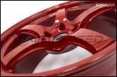 Rays Gram Lights 57CR 18x9.5 +38 Milano Red - 2013+ FR-S / BRZ / 86 / 2014+ Forester