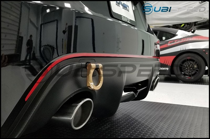 STI tS JDM Style Rear Bumper Pinstripe