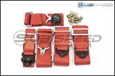 NRG 6 Point Cam Lock Seat Belt Harness - Universal