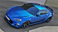 Maxton Design Gloss Black Front Lip Splitter - 2013-2016 FR-S