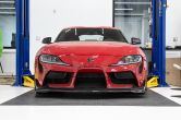 OLM V1 MT Style Carbon Fiber Front Lip - 2020-2021 Toyota A90 Supra