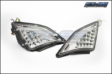 GCS FR-S Turn Signal / DRL Corner Lights V2 Chrome - 2013+ FR-S / BRZ / 86