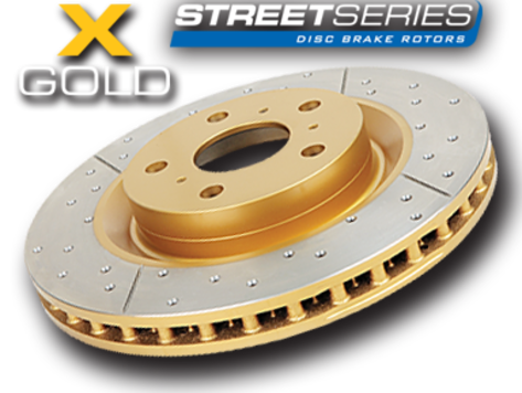 DBA Front / Rear Drilled and Slotted T2 Rotors : Front Rotors (DBA650X)