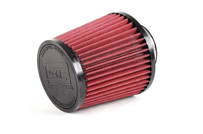 GrimmSpeed DRY-CON Cone Air Filter 3.0in Inlet