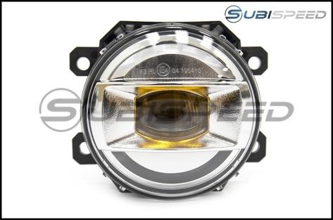 Subaru JDM Yellow LED Fog Lights - 2015+ WRX / 15-17 STI / 13-16 BRZ / 14-18 Forester / 13-17 Crosstrek / 13-16 FR-S / BRZ / 86
