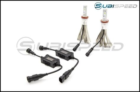 Putco Silver-Lux LED Low Beam / Fog Light Bulbs
