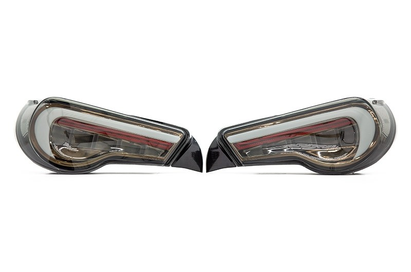 Valenti Jewel LED Tail Lights (Clear Lens, Gold Reflector)