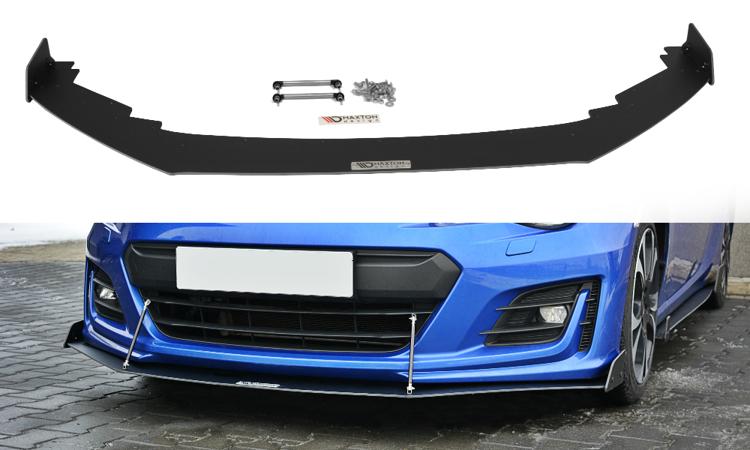 Maxton Design V3 Black Facelifted Racing Splitter