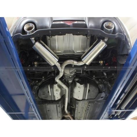aFe Takeda Dual Muffler Catback Exhaust - 2013+ FR-S / BRZ / 86