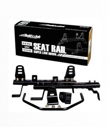 Buddy Club Super Low Seat Rails (Driver)