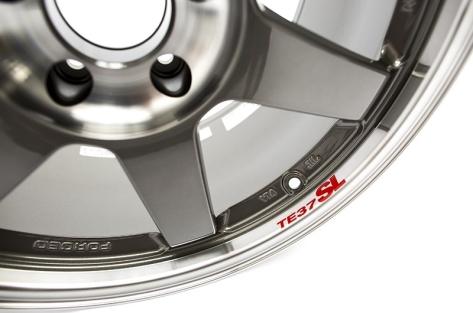 Volk TE37SL Pressed Graphite 19x9.5 +22 (Front) 19x10.5 +35 (Rear) - 2020+ A90 Supra