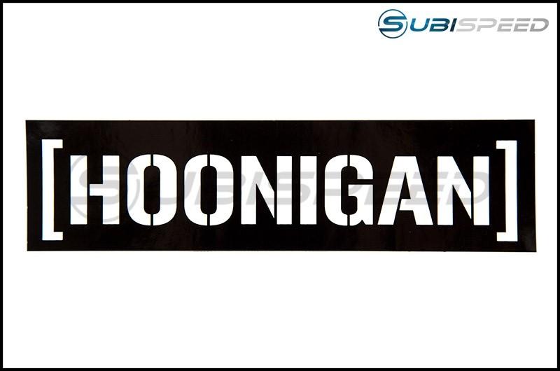 HOONIGAN Censor Bar Sticker Black / White