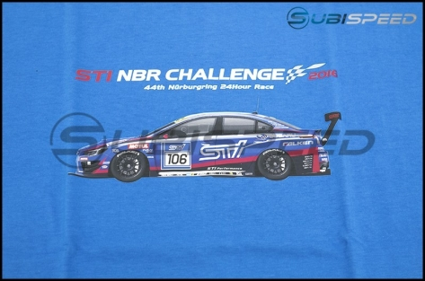 Limited Edition Subaru NBR 2016 Commemorative T-shirt