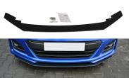 Maxton Design V2 Black Facelifted Racing Splitter - 2017+ BRZ