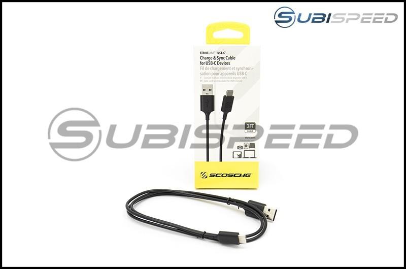 Scosche StrikeLine 3 Foot USB-C Cable