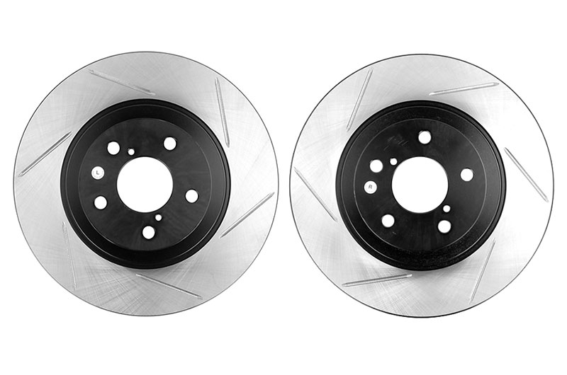 StopTech Slotted Front Rotors