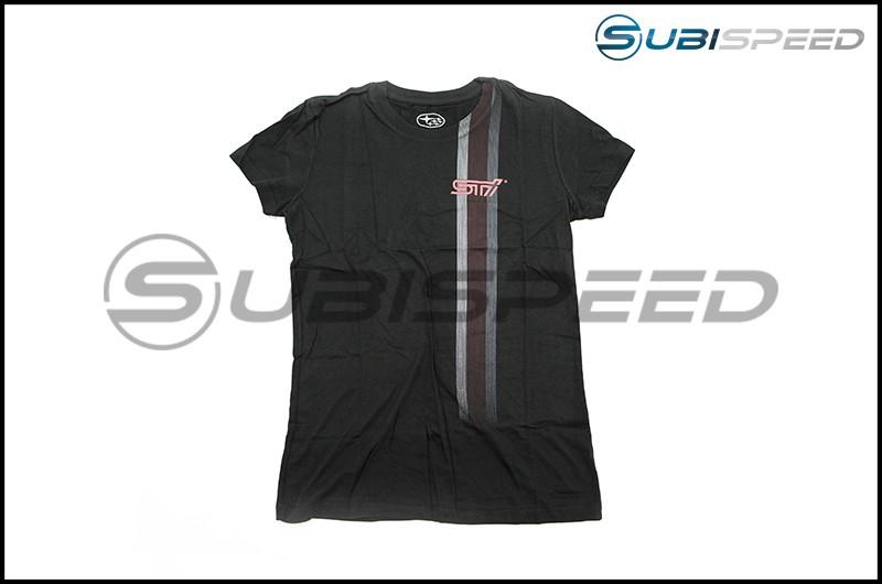 Subaru Ladies STI Striped T-Shirt