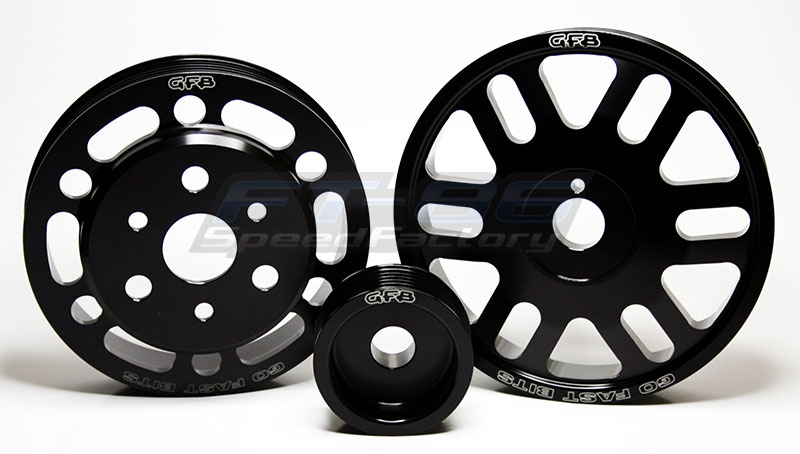 Go Fast Bits 3pc Lightweight Pulley Kit