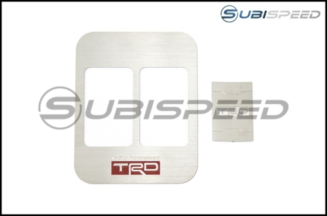 JDM Station TRD Style 2 Seat Heater Cover