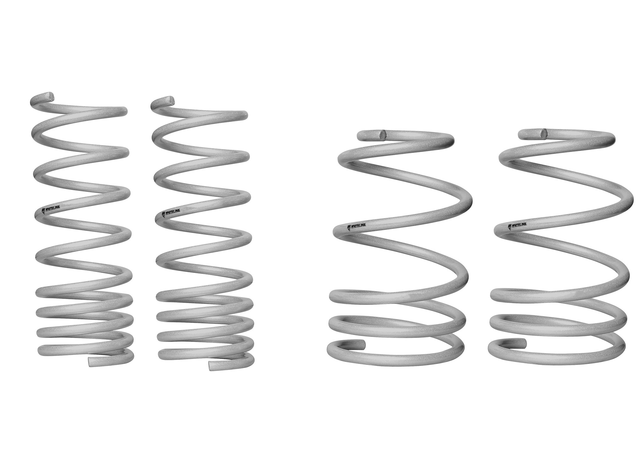 Whiteline Front and Rear Lowering Coil Springs