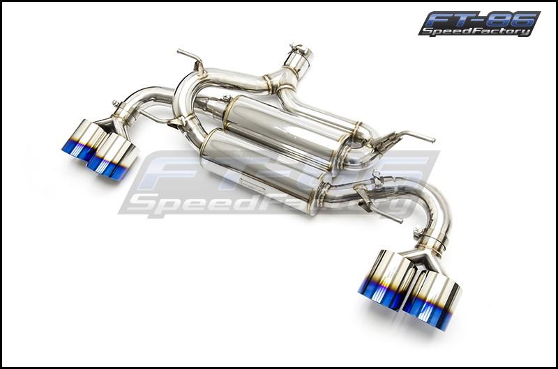 MXP SP Quad Tip Catback Exhaust System for TRD