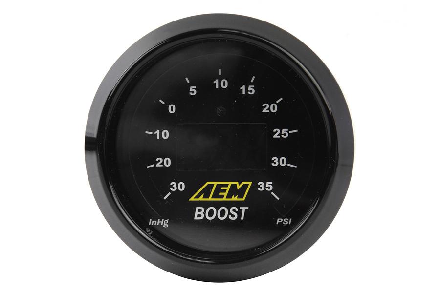 AEM Digital Boost Gauge -30 to 35psi 52mm