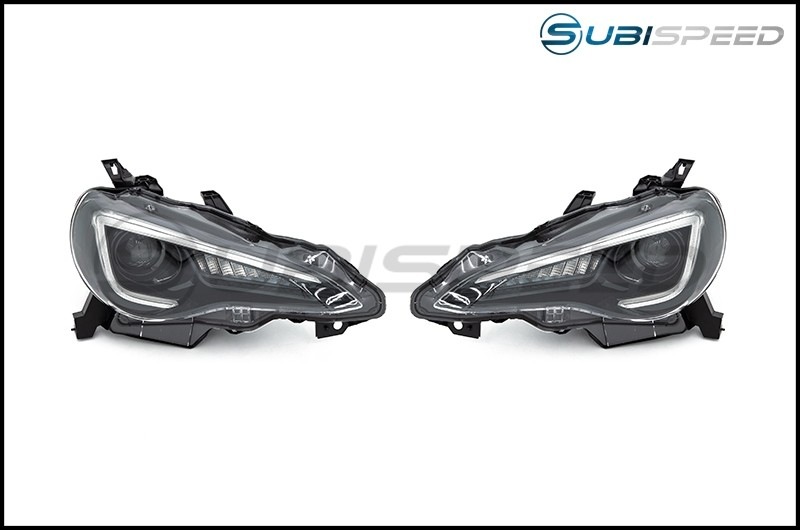 OLM Sequential Style Headlights with 6000K HID