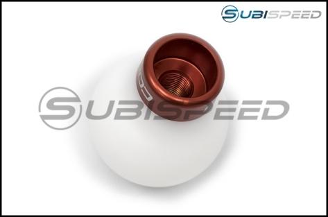 COBB Subaru 6 Speed Knob - 2015+ WRX / 2015+ STI / 2013+ BRZ-White-Red