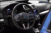 Sticker Fab 3D Carbon Steering Wheel Emblem Overlay - 2015+ WRX / STI / 2013+ BRZ / 2014+ Forester / 2013+ Crosstrek / 17+ Impreza