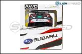 Official Subaru Rally Team Radio Controlled Car-Red - Universal