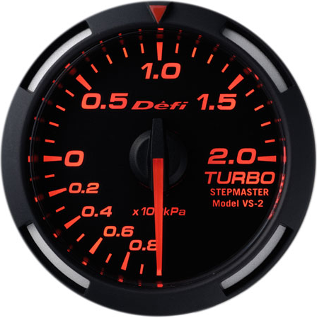 Defi Racer Boost 52mm Red (Metric Units)