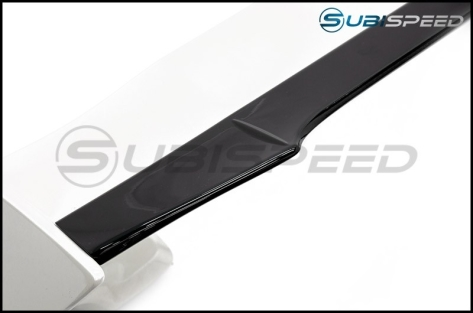 OLM RS Style Paint Matched Gurney Flap for STI Spoiler - 2015+ WRX / 2015+ STI