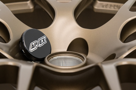 Apex Race Parts 18x9 +35 EC-7R Forged Satin Bronze - 2013+ FR-S / BRZ / 86