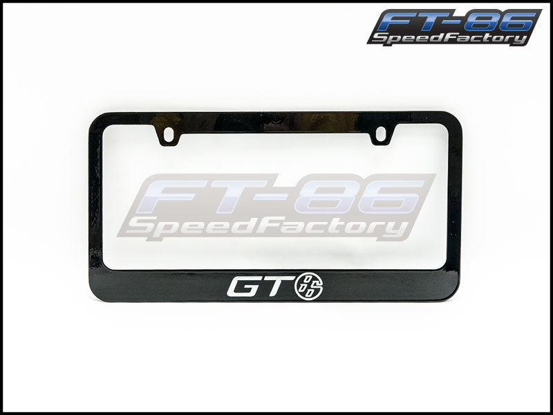 Toyota GT86 License Plate Frame
