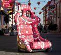 NRG Innovations FRP Prisma Oriental Dynasty Edition Bucket Seat (Large) - Universal