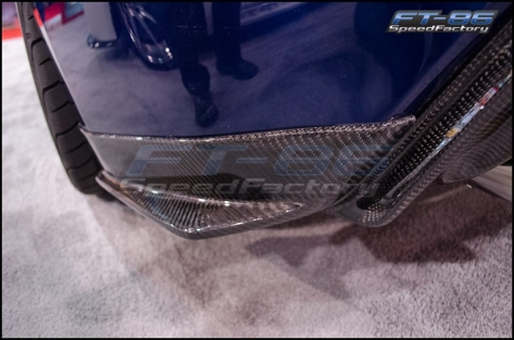 Seibon Carbon Fiber Rear Lip (KC)