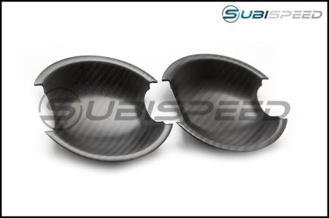 OLM Dry Carbon Fiber Exterior Door Handle Insert - 2013+ FR-S / BRZ / 86